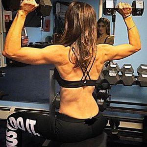 Sloane Davis Weight Training in a Gym   Pancakes & Push-Ups