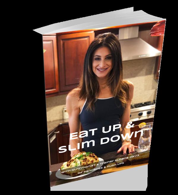 Eat Up & Slim Down Book | Pancakes & Push-ups