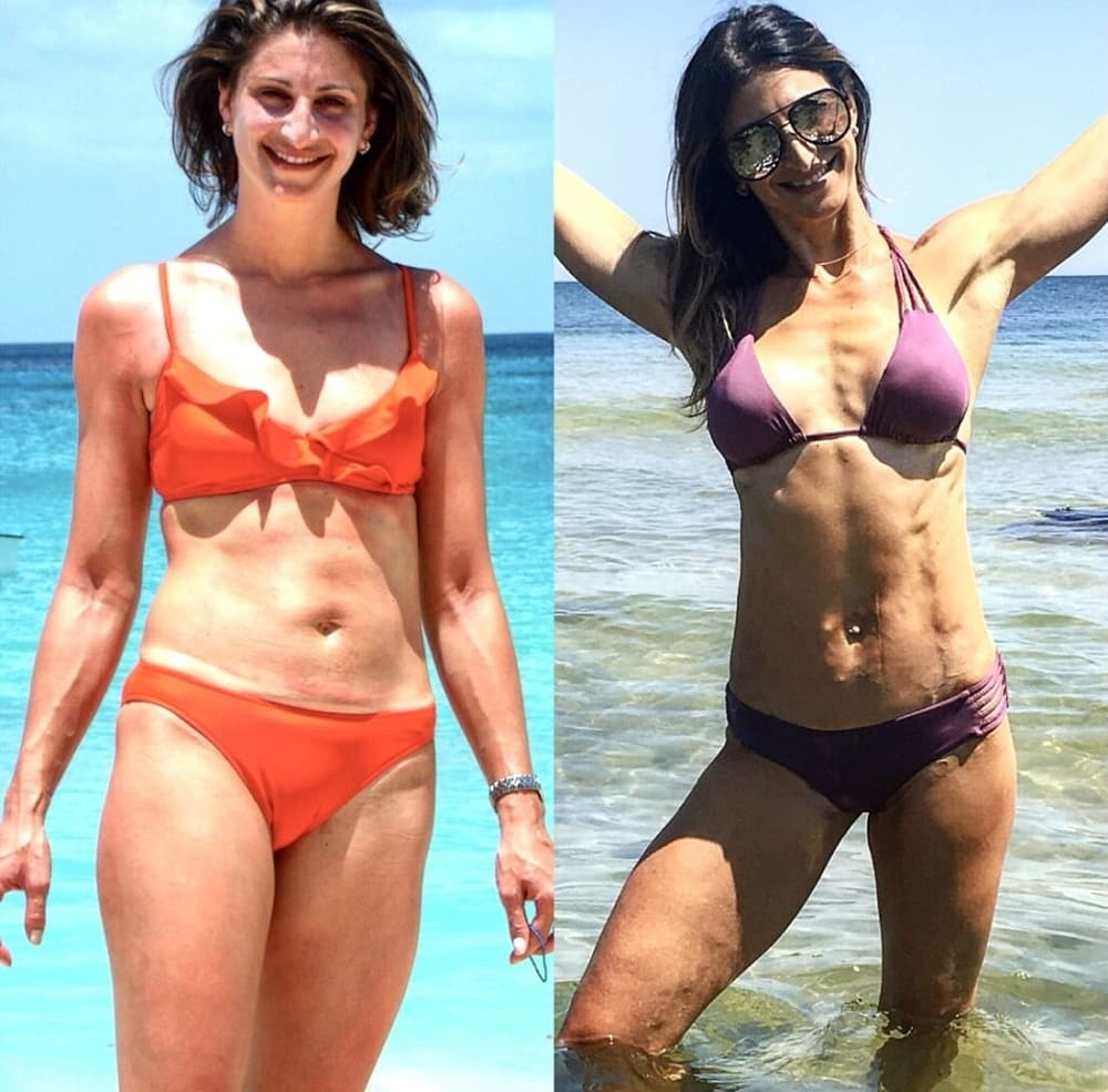 Sloane Davis Before & After Building Muscle and Losing Far   Pancakes & Pushups